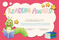 Certificate Template For Reading Award – Download Free intended for Reader Award Certificate Templates