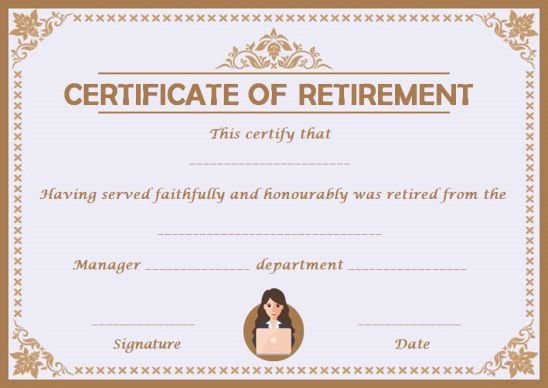 Certificates Archives - Page 2 Of 122 - Template Sumo For Unique Free Retirement Certificate Templates For Word