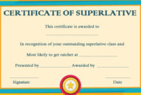 Certificates Archives – Page 8 Of 122 – Template Sumo throughout Unique Superlative Certificate Template