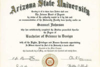 Certificates For Degree College in Unique Academic Certificate