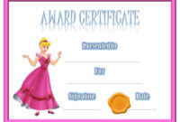 Certificates For Kids | Free Certificate Templates, Award for Best Bravery Certificate Templates