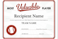 Certificates – Office for Best Player Of The Day Certificate Template Free