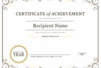 Certificates – Office inside Contest Winner Certificate Template