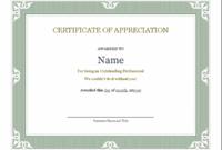 Certificates – Office regarding Outstanding Performance Certificate Template