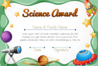 Certification Template For Science Award – Download Free intended for Unique Science Award Certificate Templates