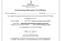 Ceu Certificate Template | Education Certificate, Continuing regarding Ceu Certificate Template
