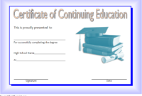 Ceu Certificate Template Free | Certificate Templates inside Unique Ceu Certificate Template