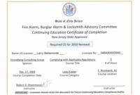 Ceu Certificates Template Elegant Continuing Education pertaining to Unique Ceu Certificate Template