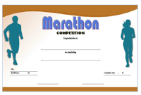 Chicago Marathon Finisher Certificate Free Printable 2 In for Finisher Certificate Template 7 Completion Ideas
