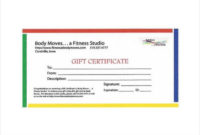 Clipart-Birthday-Gift-Certificate-Template-Download- intended for Fresh Physical Fitness Certificate Template 7 Ideas