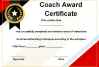 Coach Certificate Of Appreciation: 9 Professional Templates for Best Coach Certificate Template