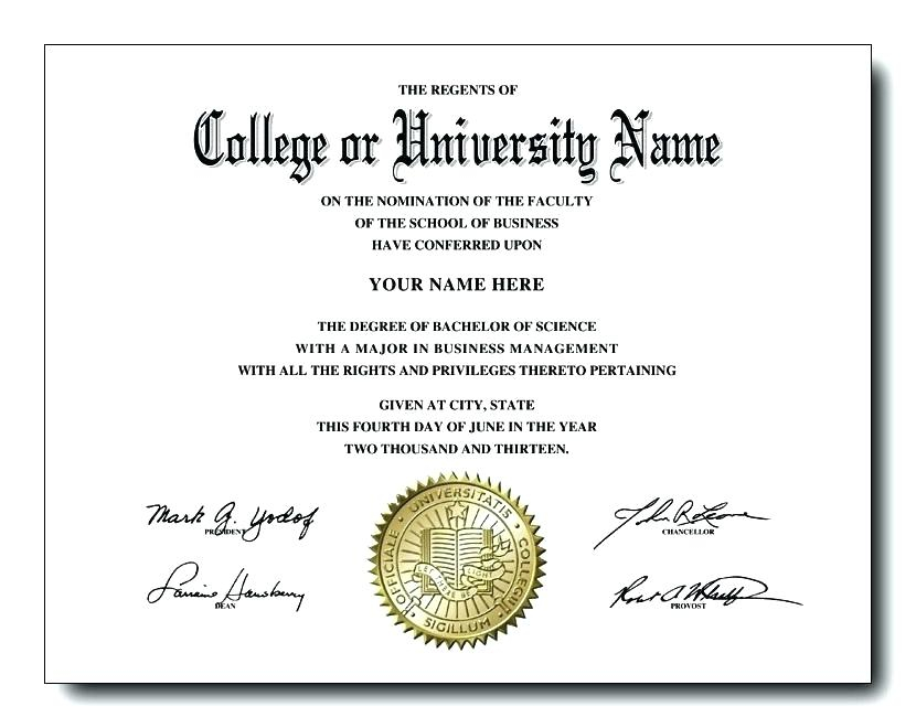 College Graduation Certificate Template (5) - Templates With Regard To Best Certificate Of Job Promotion Template 7 Ideas