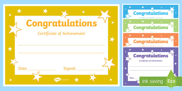 Congratulations Certificate Template Throughout Fresh Certificate Of Kindness Template Editable Free