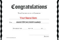 Congratulations Certificate Word Template Awesome Award regarding Congratulations Certificate Template