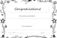 Congratulations Certificate Word Template Erieairfair With with regard to Congratulations Certificate Template 10 Awards