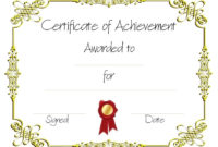 Copy-8-Of-Certificate-Of-Achievement (960×720 with regard to Best Weight Loss Certificate Template Free 8 Ideas