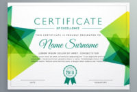 Creative Certificate Sample Design – Free Template Ppt in Table Tennis Certificate Templates Free 10 Designs