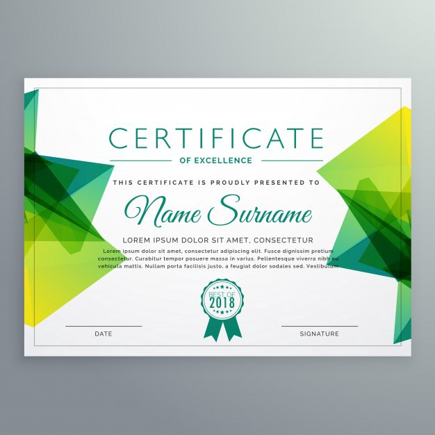 Creative Certificate Sample Design - Free Template Ppt In Table Tennis Certificate Templates Free 10 Designs