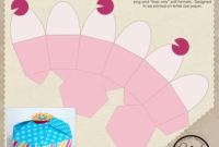 Cupcake Box Template Free Download More At Recipins with regard to Cupcake Certificate Template Free 7 Sweet Designs