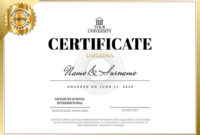 Diplomas And Certificates Templates pertaining to Best Training Course Certificate Templates