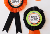 Diy Halloween Costume Award! (Prize Ribbons) in Halloween Costume Certificates 7 Ideas Free
