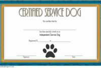 Dog Training Certificate Template Beautiful Dog Training with Best Dog Training Certificate Template Free 10 Best