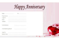 Download 2020 Template Ideas Of Anniversary Gift Certificate within Anniversary Gift Certificate