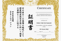 Download Certificate Template Free – Karate Certificate inside Karate Certificate Template