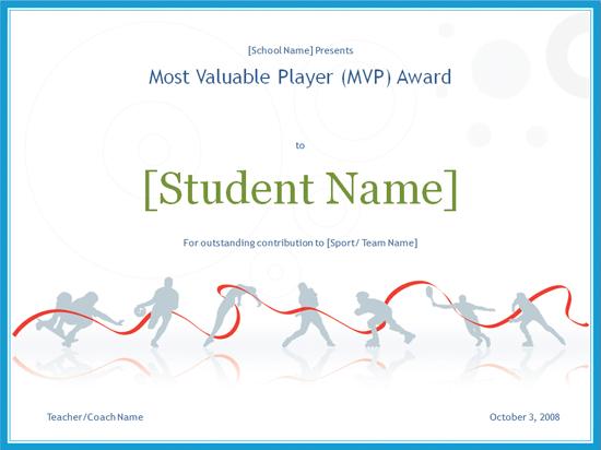 Download Mvp Award Certificate - Free Certificate Templates For Mvp Award Certificate Templates Free Download