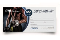 Download This Free Gift Certificate Template In Psd regarding Best Fitness Gift Certificate Template