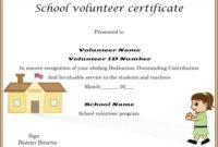 Download Volunteer Certificates The Right Way (19 Free Word throughout Outstanding Volunteer Certificate Template