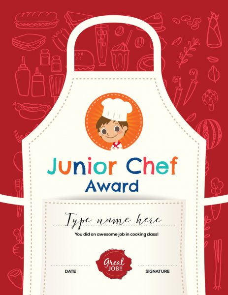 ᐈ Cooking Contest Certificate Template Stock Vectors Intended For Cooking Contest Winner Certificate Templates