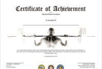 Editable-New-Free-Doc-Free-Certificate-Of-Achievement-In throughout Unique Physical Fitness Certificate Template Editable