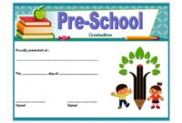 Editable Preschool Graduation Certificate Template Free 3 In throughout Unique Preschool Graduation Certificate Template Free