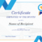 Employee Of The Month Certificate inside Fresh Employee Of The Month Certificate Templates