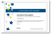 Employee Recognition Certificate Templates – Free Online Tool intended for Fresh Long Service Award Certificate Templates
