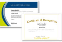 Employee Recognition Certificate Templates – Free Online Tool regarding Employee Certificate Template Free 10 Best Designs
