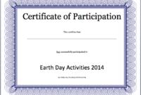 Event Participation Certificate Template – Free Template regarding Winner Certificate Template Free 12 Designs