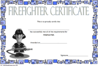 Fire Department Certificate Template Free 2 | Certificate Within Firefighter Certificate Template Ideas