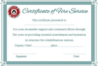 Fire Extinguisher Certificate Template (2) – Templates for Fire Extinguisher Training Certificate Template Free