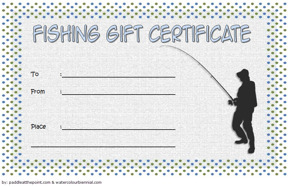 Fishing Gift Certificate Template Free (1St Design) In 2020 regarding Fishing Gift Certificate Template