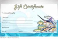 Fishing Gift Certificate Template New Fishing Gift for Travel Certificates 10 Template Designs 2019 Free