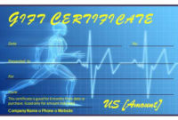 Fitness Gift Certificate » Officetemplates with regard to Best Fitness Gift Certificate Template