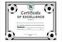 Free 17+ Soccer Certificate Templates In Psd | Ai | Indesign in Soccer Award Certificate Template