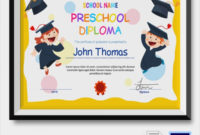 Free 19+ Graduation Certificates In Ai   Indesign   Ms Word pertaining to Daycare Diploma Certificate Templates