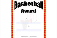 Free 20+ Sample Basketball Certificate Templates In Pdf | Ms with 7 Basketball Achievement Certificate Editable Templates