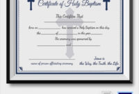 Free 23+ Sample Baptism Certificate Templates In Pdf | Ms within Baptism Certificate Template Word Free