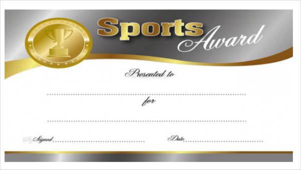 Free 27+ Sports Certificates In Pdf Regarding Baseball Certificate Template Free 14 Award Designs