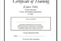Free 28+ Training Certificate Templates In Ai | Indesign pertaining to Training Course Certificate Templates