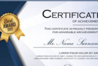 Free 30+ Printable Sample Certificate Templates In Ai with regard to Unique Winner Certificate Template Free 12 Designs